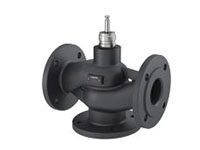 3-way flanged valve, PN 6