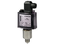 Specially designed pressure limiter - DSL, DSH