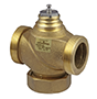 2-way valve with male thread, PN16 - VUN
