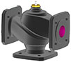 3-way flanged valve, PN 6 (el.) - BUD