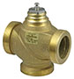 3-way valve with male thread, PN 16 - BUN