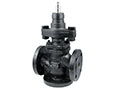 3-Way Flanged Valve, PN40 (el.) - BUS